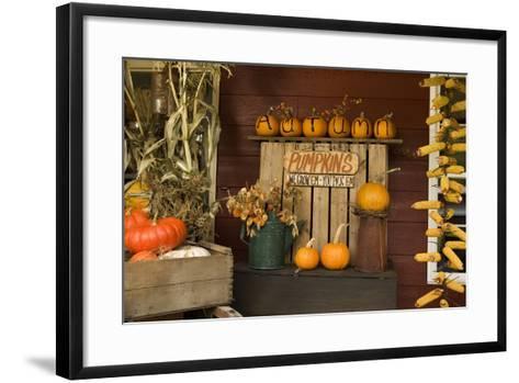 Autumn Harvest III-Philip Clayton-thompson-Framed Art Print