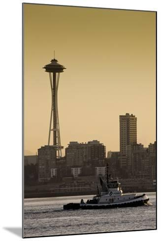 Space Needle IV-Bob Stefko-Mounted Photographic Print