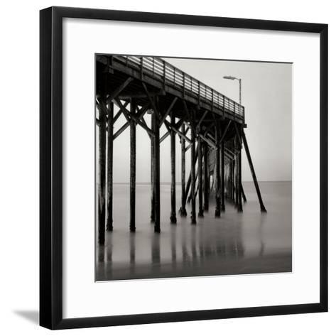 Pier Pilings 20-Lee Peterson-Framed Art Print