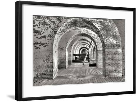 Civil War Fort I-George Johnson-Framed Art Print