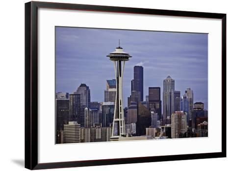 Space Needle II-Bob Stefko-Framed Art Print