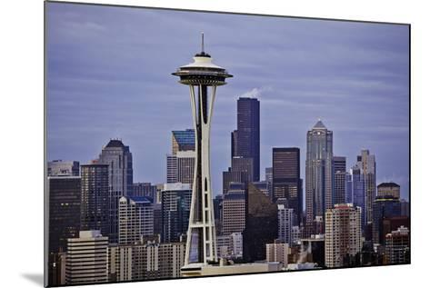 Space Needle II-Bob Stefko-Mounted Photographic Print