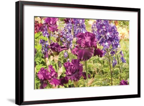 Purple Garden I-Maureen Love-Framed Art Print