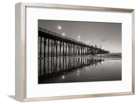 Pier Night 2-Lee Peterson-Framed Art Print