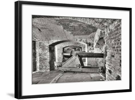 Civil War Fort II-George Johnson-Framed Art Print
