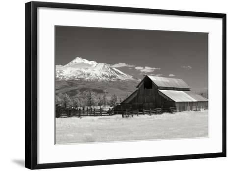 Mt. Shasta I-George Johnson-Framed Art Print