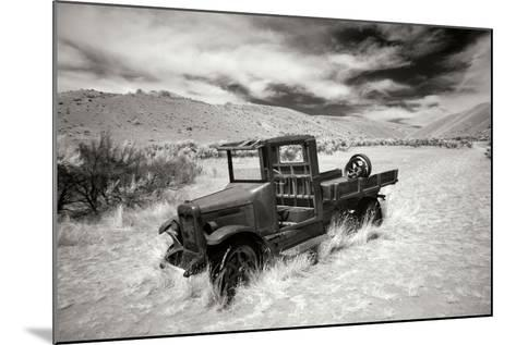 Bannack Truck-George Johnson-Mounted Photographic Print