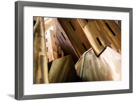 Burnished Modern IV-Alan Hausenflock-Framed Art Print