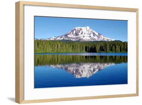 Mt. Adams-Douglas Taylor-Framed Art Print