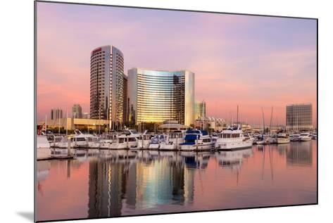 San Diego Waterfront II-Kathy Mahan-Mounted Photographic Print