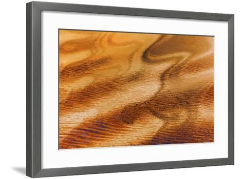 Golden Water II-Kathy Mahan-Framed Art Print