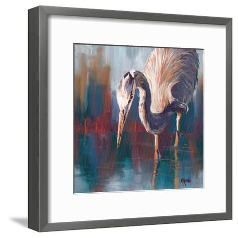 Urban Heron-Molly Reeves-Framed Art Print