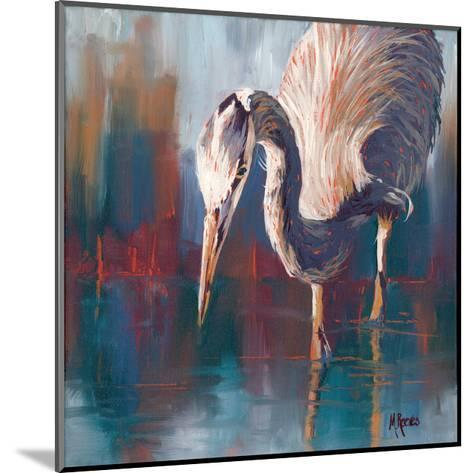 Urban Heron-Molly Reeves-Mounted Photographic Print
