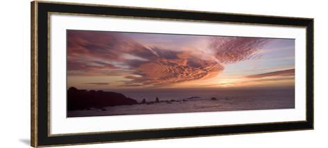 Sunset Sky III-Rita Crane-Framed Art Print