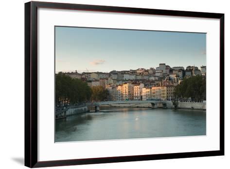 The Saone in Lyon I-Erin Berzel-Framed Art Print