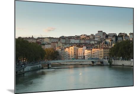 The Saone in Lyon I-Erin Berzel-Mounted Photographic Print