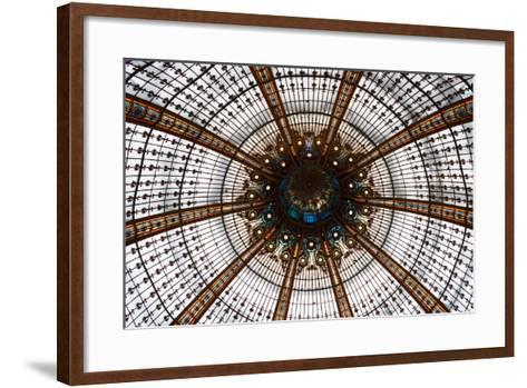 Galeries Lafayette III-Erin Berzel-Framed Art Print