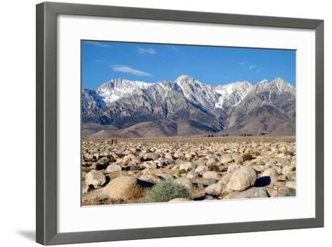 Sierra Nevada Mountains II-Douglas Taylor-Framed Art Print