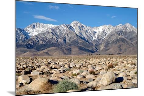 Sierra Nevada Mountains II-Douglas Taylor-Mounted Photographic Print