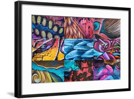 Graffiti I-Kathy Mahan-Framed Art Print