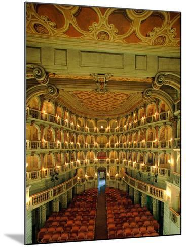 """Bibiena Theater known as the """"Scientifico""""--Mounted Photographic Print"""