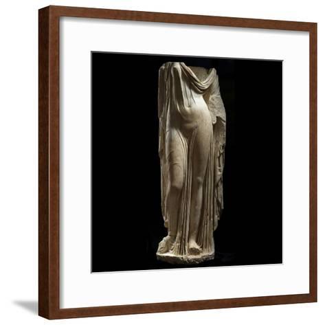 Statue Female Portrait of Type of Venus Genetrix--Framed Art Print