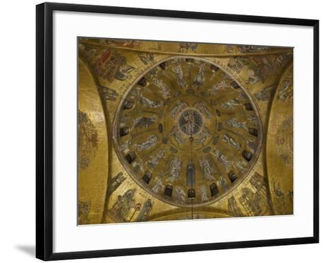 St Marks Basilica, Venice, 10th Century--Framed Art Print