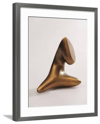 Untitled-Arp Jean-Framed Art Print