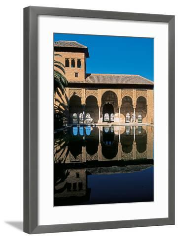Alhambra, Palace of the Partal, 14th Century--Framed Art Print