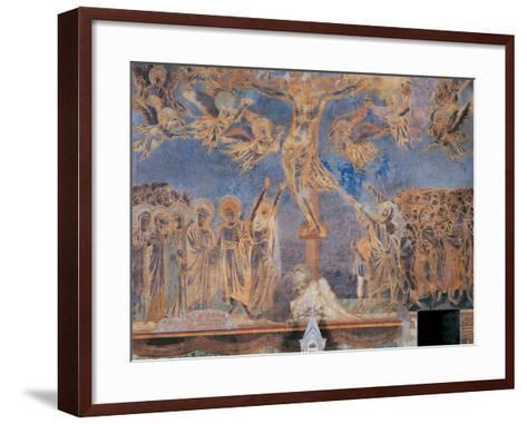 The Crucifixion-Cimabue-Framed Art Print