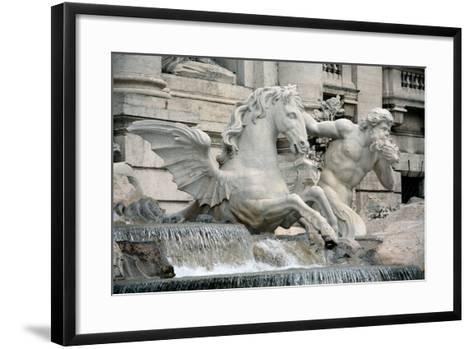 Trevi Fountain-Pannini Giuseppe-Framed Art Print