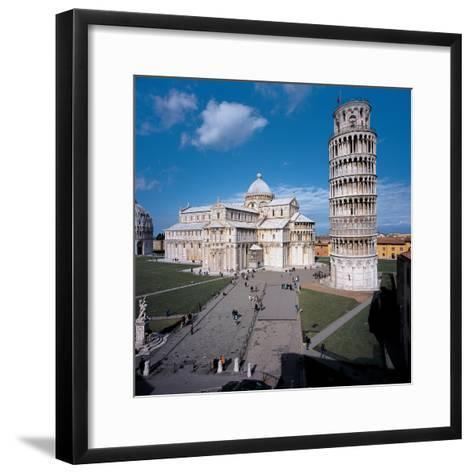 Campo Dei Miracoli - Pisa (Piazza Dei Miracoli)- Rainaldo-Framed Art Print