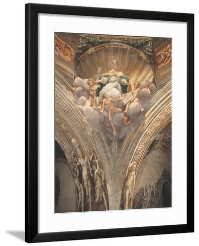 Assumption of the Virgin-Correggio-Framed Art Print