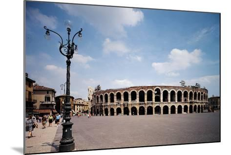 The Arena Or Roman Amphitheatre in Verona, 1st Century, Marble and Brick--Mounted Photographic Print