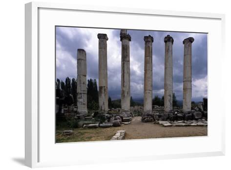 Temple of Aphrodite, 1st Century A.C.--Framed Art Print