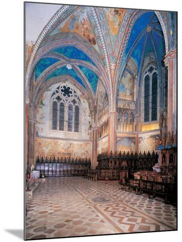 Upper Basilica of San Francesco, 1228 - 1253, 13th Century--Mounted Photographic Print
