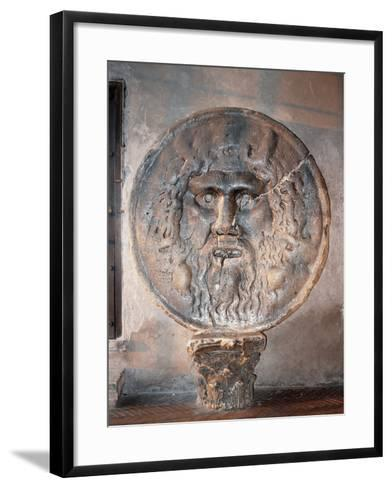Mouth of Truth--Framed Art Print
