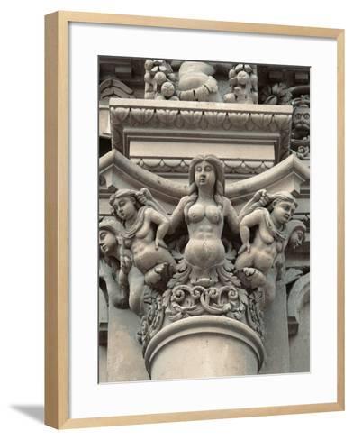 Church of Santa Croce in Lecce--Framed Art Print