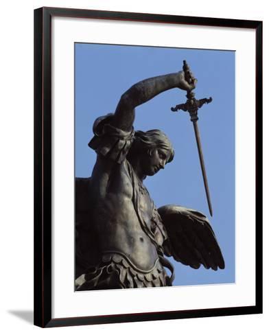 The Angel--Framed Art Print