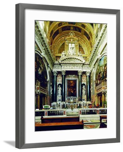 Chiesa Del Gesù, Genoa-Leonardo da Vinci-Framed Art Print