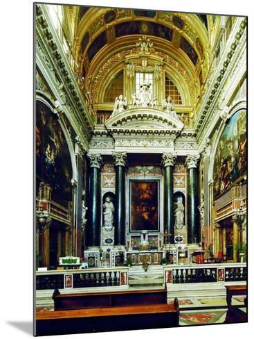 Chiesa Del Gesù, Genoa-Leonardo da Vinci-Mounted Photographic Print