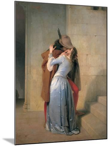 The Kiss-Hayez Francesco-Mounted Photographic Print
