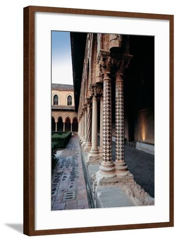 Monreale, Cathedral, 1172 - 1183, 12th Century--Framed Art Print
