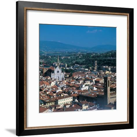 View of the District of Santa Croce, Florence--Framed Art Print