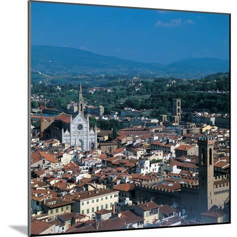 View of the District of Santa Croce, Florence--Mounted Photographic Print