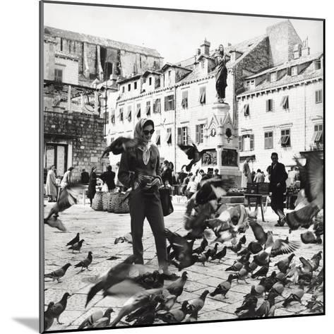 Dubrovnik's Marketplace--Mounted Photographic Print
