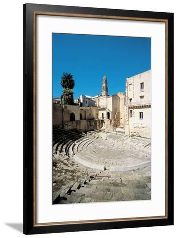 Roman Theatre - Lecce, 1st Century, Stone--Framed Art Print