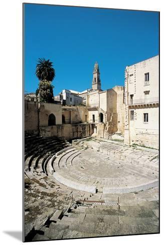 Roman Theatre - Lecce, 1st Century, Stone--Mounted Photographic Print