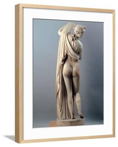 Venus Callipygian, Kallipygos, 1st Century, Marble, Full Relief--Framed Art Print