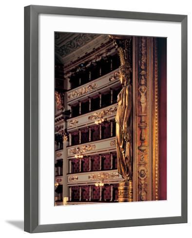 Views of the Teatro Alla Scala-Piermarini Giuseppe-Framed Art Print